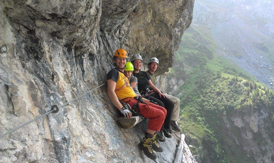 Klettersteig Switzerland : Moléson klettersteig schweiz tourismus
